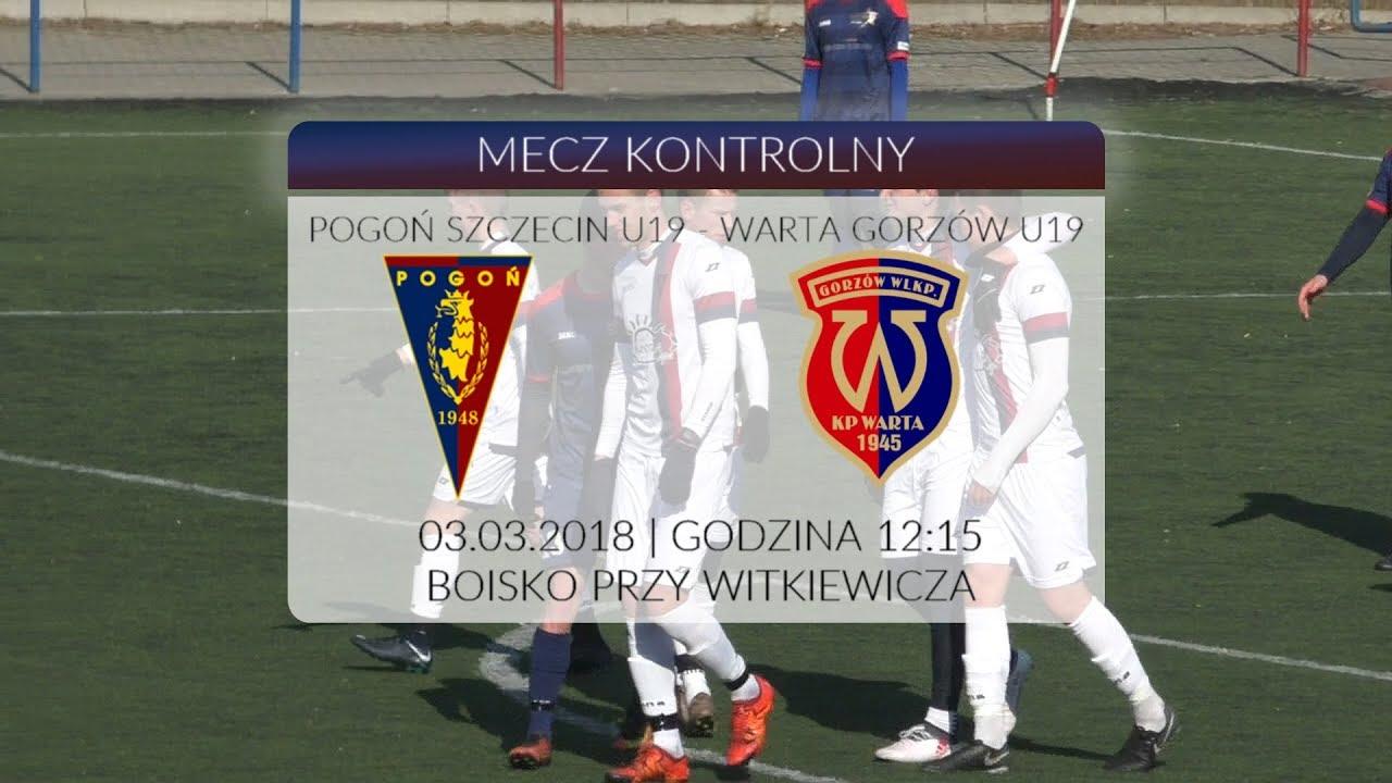 Sparing: Pogoń Szczecin U19 – Warta Gorzów U19 6:2 (5:0)