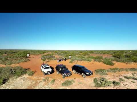 Shark Bay, Monkey Mia and Cape Peron 4WD filmed by drone 2016