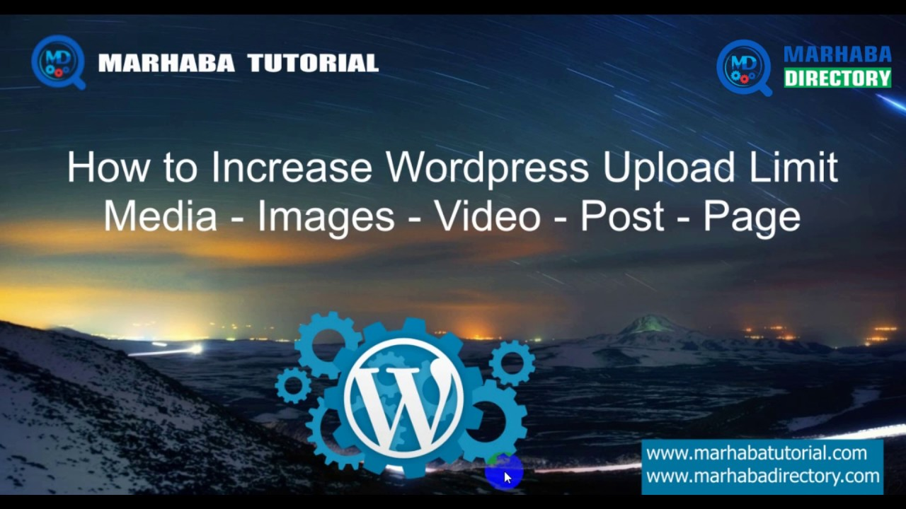 How to increase wordpress media Upload limit with php.ini