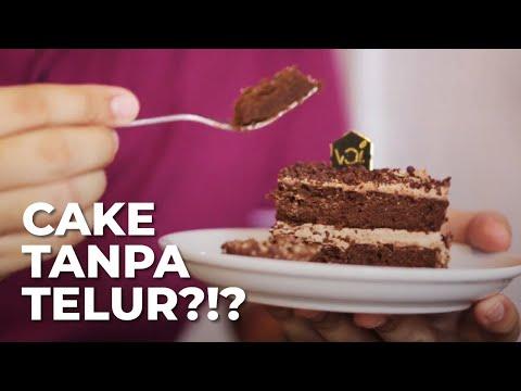 No egg, No cheese, No milk, No Cream. Kek gitu cemana bisa jadi cake ???
