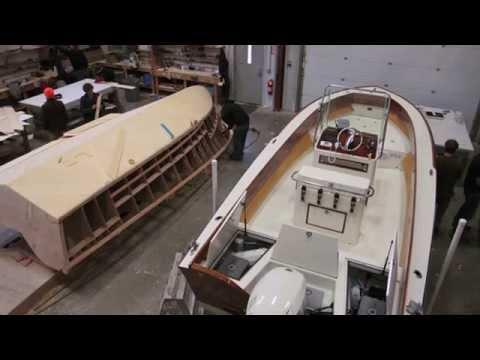 The Landing School Wooden Boat Building Program