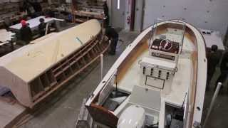 The Landing School Wooden Boat Building Program