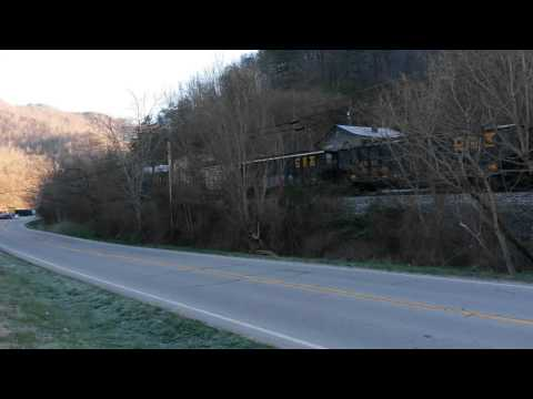 CSX Coal Train at Isom, KY  March 22, 2016
