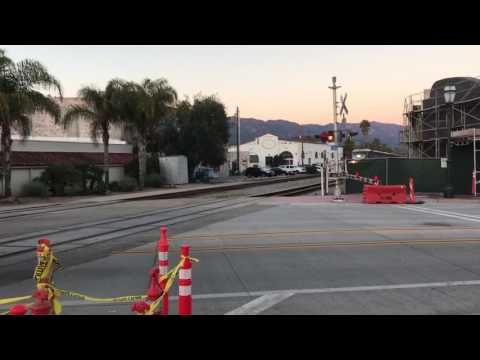 Amtrak Surfliner through Santa Barbara