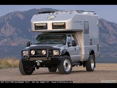 Ford F 650 >> EarthRoamer XV-LT Ford F-550 - YouTube