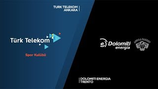 Download Video Turk Telekom Ankara - Dolomiti Energia Trento Highlights | 7DAYS EuroCup, RS Round 9 MP3 3GP MP4