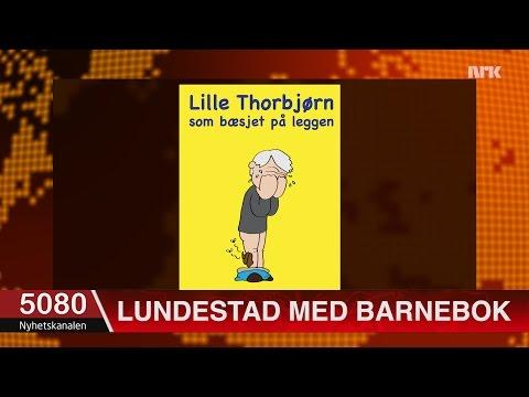 Lundestad lanserer barnebok om lille Jagland som ikke kan kle på seg