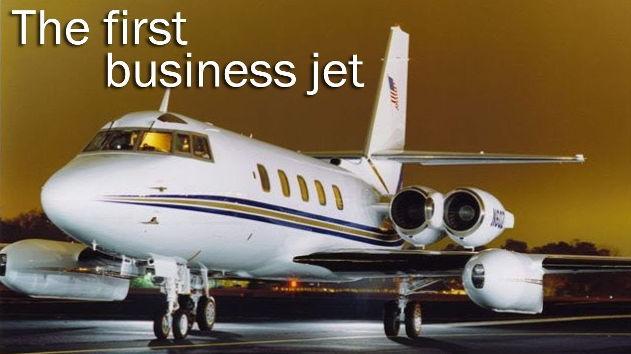 Lockheed Jetstar - grandfather of all business jets - YouTube