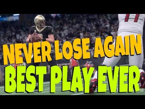 BEST PLAY OF THE YEAR! EASY 1 PLAY TD ON ANY DEFENSE INCLUDING PREVENT! NO ADJUSTMENTS MADDEN 18