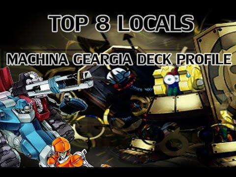 *YuGiOh* Competitive Machina Geargia Deck Profile July 2014 Banlist