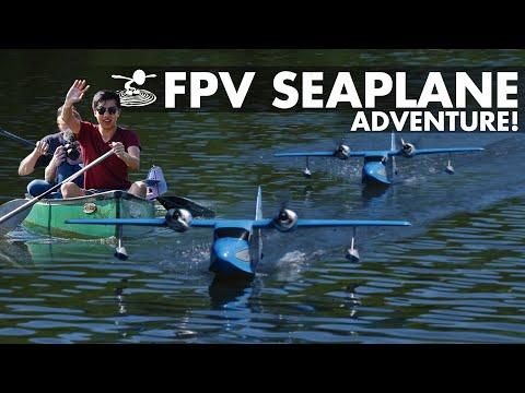 HD FPV Seaplane