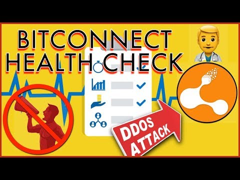 BITCONNECT HEALTH CHECK - Site Under DDoS Attack - US State's Issue C&D - Promoters Ordered To Stop?