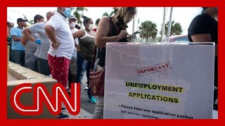 Jobless claims surge for third week as 6.6 million Americans file for unemployment
