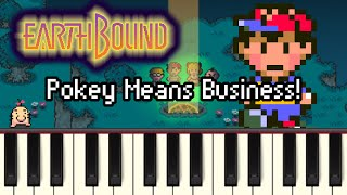 Pokey Means Business! - Earthbound [Synthesia]