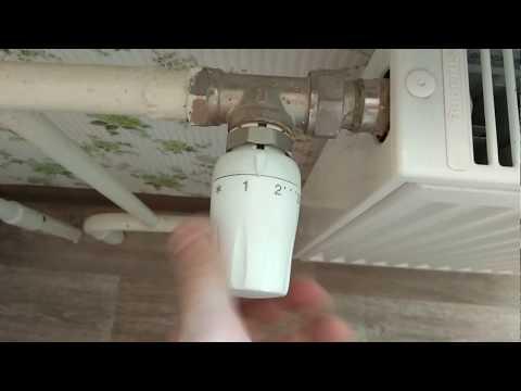 Как снять терморегулятор с батареи отопления самому