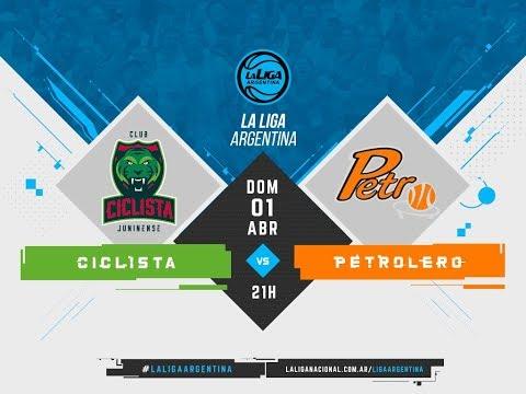 #LaLigaArgentina | 01.04.2018 Ciclista Juninense vs. Petrolero