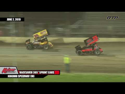 "2019 ""Kokomo Klassic"" - IMCA Racesaver 305 Sprint Cars - Feature Event - (HIGHLIGHTS)"