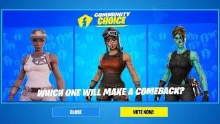 *NEW* FORTNITE Voting System Countdown! _ VOTE FOR OG SKINS! (Fortnite Battle Royale)