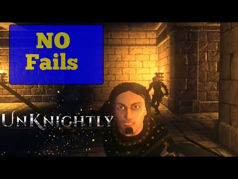 Unknightly Chapter 1 - Everybody dies + Nofails + No wallclimbing (assassin's creed VR)