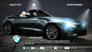 Need For Speed : Hot Pursuit . Introducing SPORTS series (Official Car List)