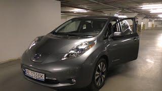 Самый подробный видео-обзор электромобиля Nissan Leaf от владельца. Только полезное! ( часть 1/5 )