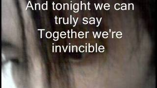 Muse - Invincible (With Lyrics)