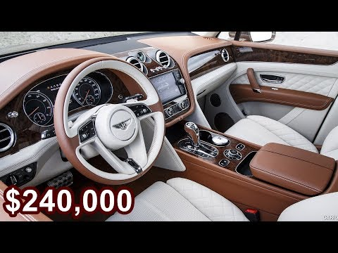 2017 Bentley Bentayga Mulliner - The World's Most Expensive Luxurious SUV!