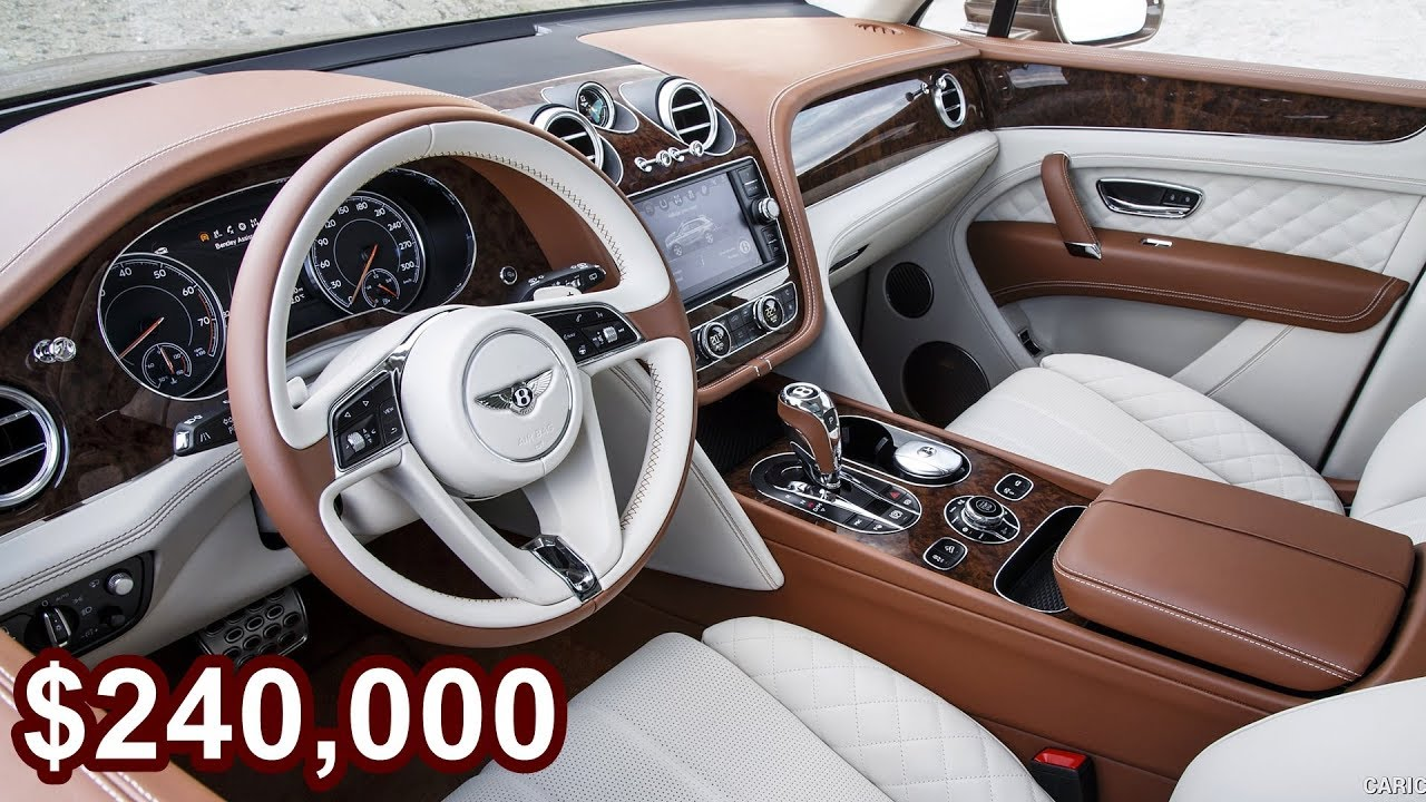 2017 Bentley Bentayga Mulliner The World S Most Expensive Luxurious Suv