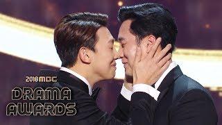"The winner of the Grand Award, So Ji Sub of ""My Secret, Terrius"" [2018 MBC Drama Awards]"