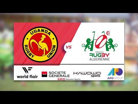 Rugby Africa Cup   UGANDA VS ALGERIA