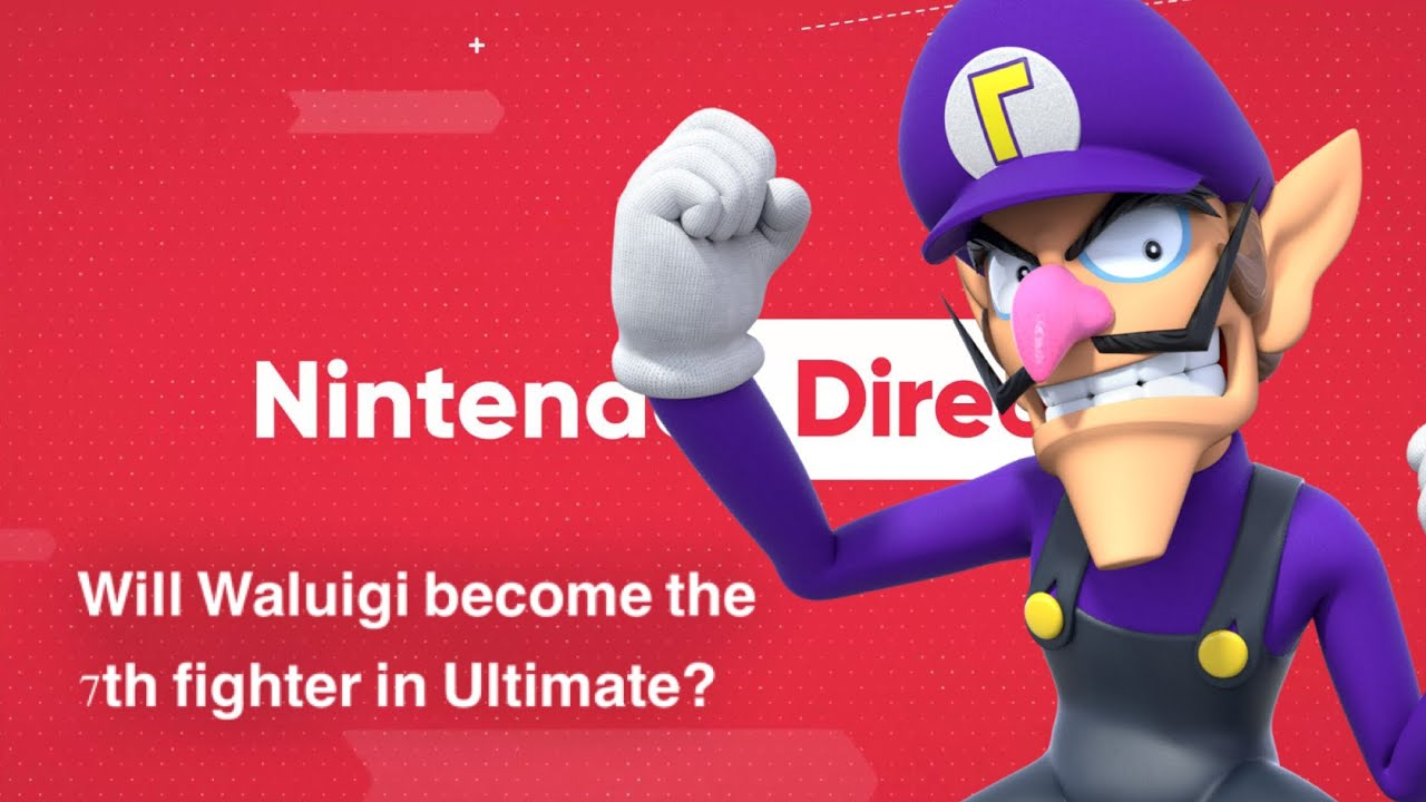 Will Waluigi become the 7th fighter in Ultimate?