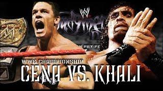 John Cena vs The Great Khali Highlights: Judgment Day 2007