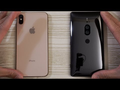 iphone-xs-max-vs-sony-xz2-premium---speed-test!