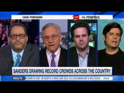Nick Gillespie on Lean Forward - Sanders & Trump Two Sides of Same Coin