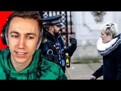 Breaking Dumb Laws Infront Of UK Police