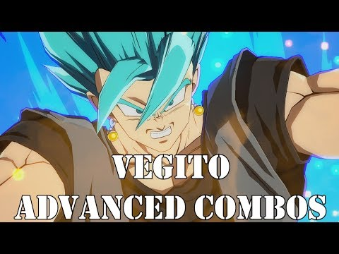 """""""And this is... Vegito Blue!!"""" Advanced Vegito Blue Combos - Dragon Ball FighterZ"""