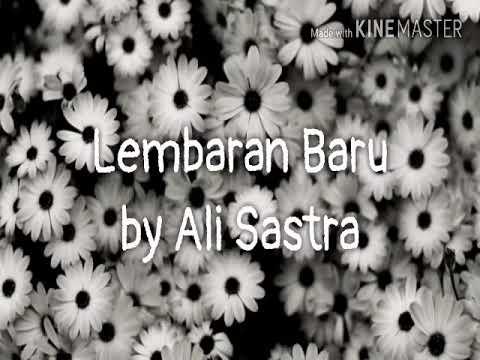 Lirik lagu Lembaran Baru by Ali Sastra | Lirik lagu Nasyid | Ali sastra | Lembaran Baru