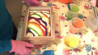 Making, Swirling and Cutting Fruit Paradise Cold Process Soap