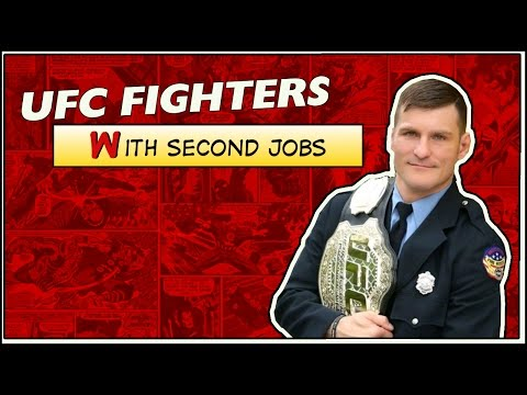 UFC Fighters with Second Jobs