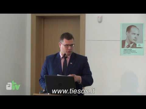 Adolfo Damušio politinių studijų dienos, Laurynas Kasčiūnas