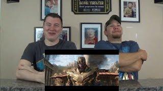 Avengers: Infinity War Trailer - Gangsta's Paradise REACTION!!!