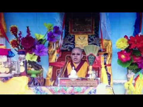 Dis high lama . Good advice 2018 , in Tibet