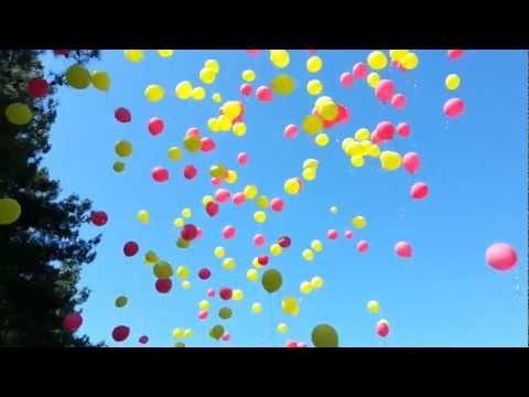 Академия Лидерства 2012. Закрытие. Шарики летят в небо.