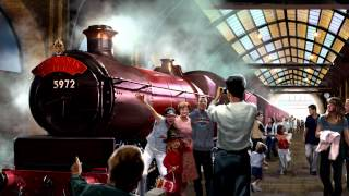 First Look - Hogwarts Express comes to Universal Orlando