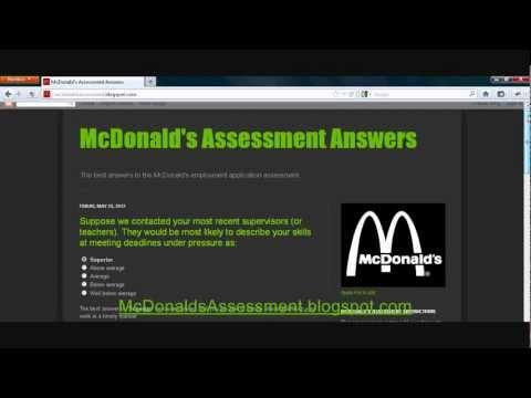 Видео Answer to mcdonalds safety pop quiz july quarterly 2014