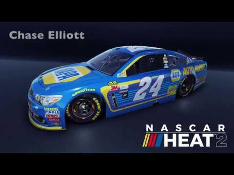 nascar heat evolution 2 drivers
