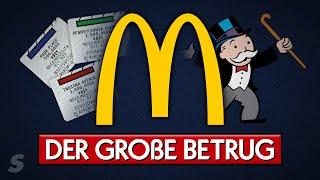 Der große McDonald's Monopoly Betrug