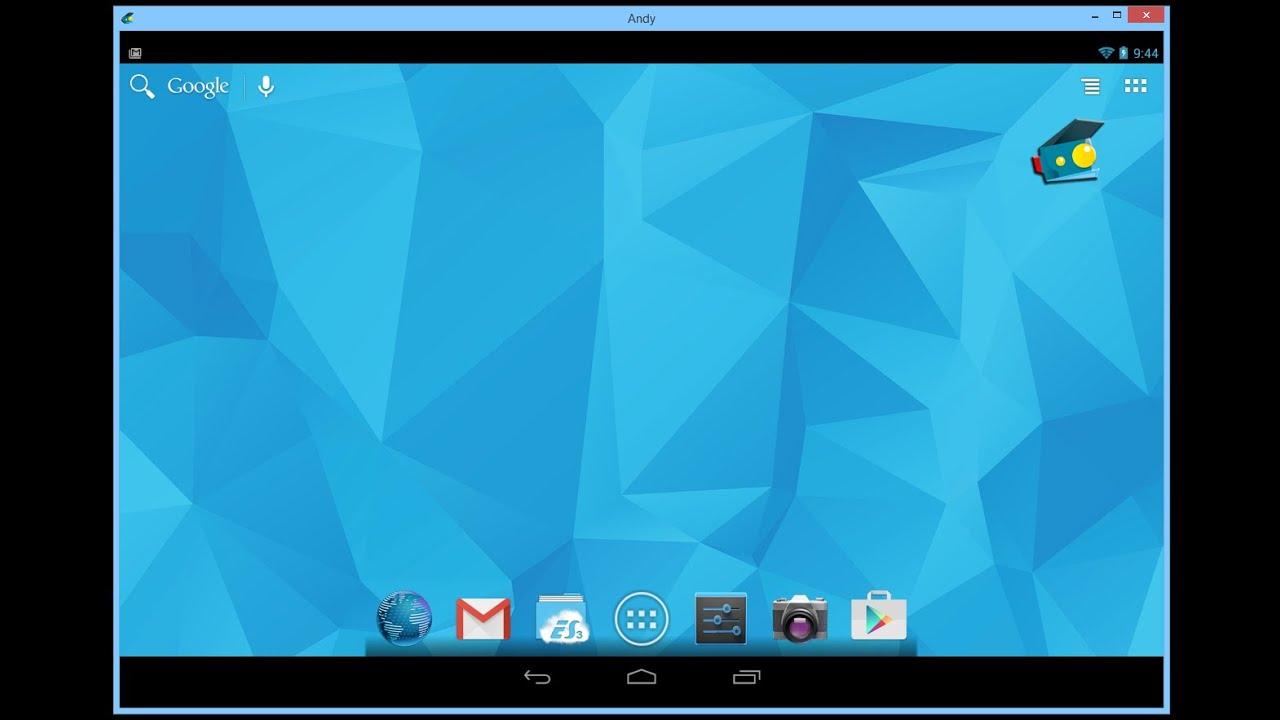 Скачать симулятор андроида на пк windows 8