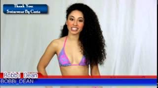 Sexy Model in Bikini Bobbi Dean Teaches Spanish Horse Back Riding
