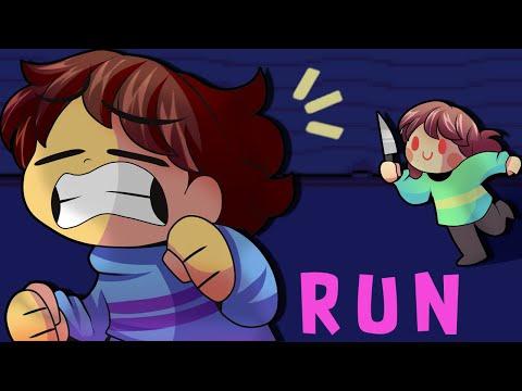 RUN FRISK RUN!!!!【Undertale】
